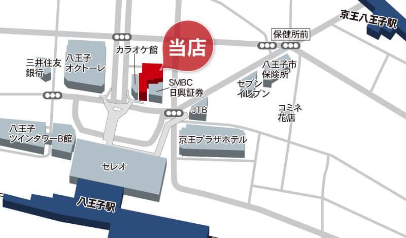 朝日土地建物 八王子支店 提携駐車場のご案内