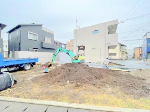 これから建築工事の始まる現地になります